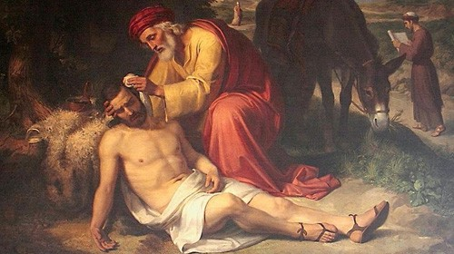 """The Good Samaritan"" by Francesco Koeck (1824)"