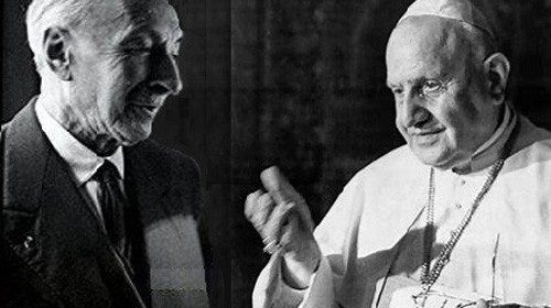 Prof. Jules Isaac and Pope Saint John XXIII