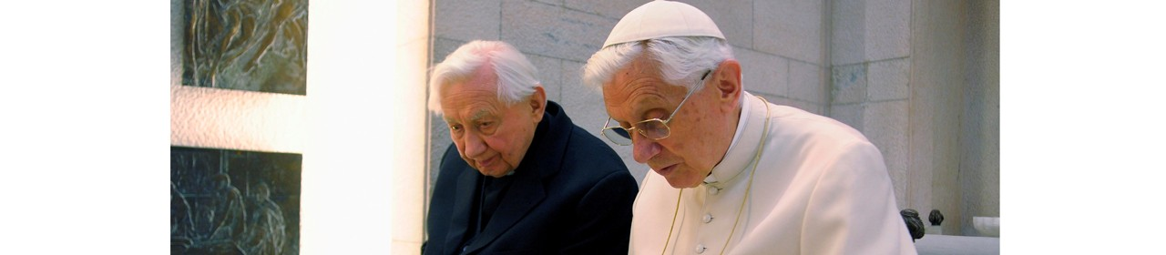 Francis' condolences for the death <br> of Georg Ratzinger