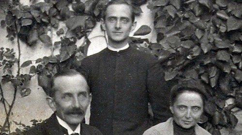 Paolo VI e famiglia