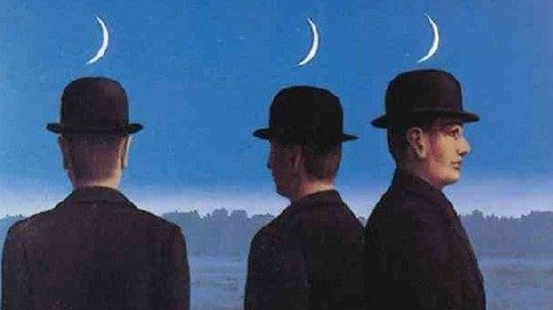 René Magritte «I misteri dell'orizzonte» (1955)