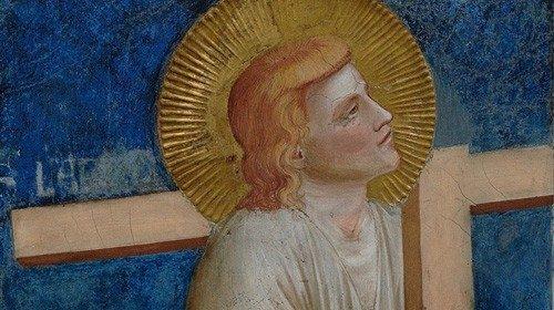 Giotto, «Il buon ladrone»  (Assisi, basilica di San Francesco)