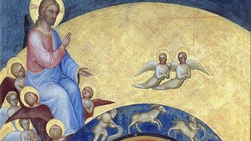 Giusto de' Menabuoi «La creazione del mondo» (Battistero di Padova, XIV secolo)