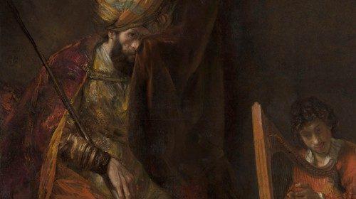 Rembrandt, «Saul e Davide» (1651-1658)