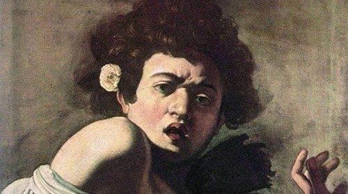 Michelangelo Merisi, «Ragazzo morso da un ramarro» (1596-1597)