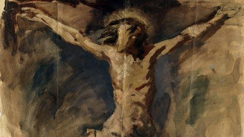 Pablo Picasso, «Cristo crocifisso» (1896-97)