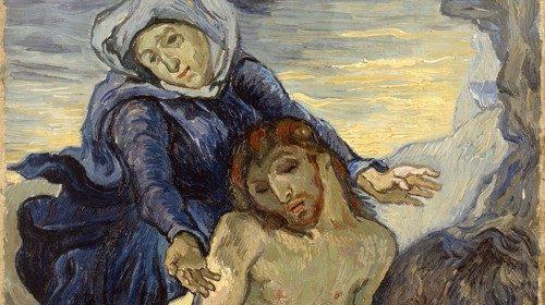 «Pietà» (1889, Musei Vaticani. Foto © Governatorato SCV – Direzione dei Musei)