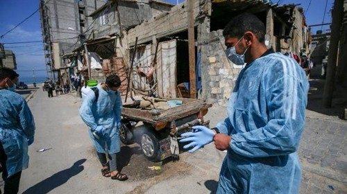 striscia di Gaza Coronavirus