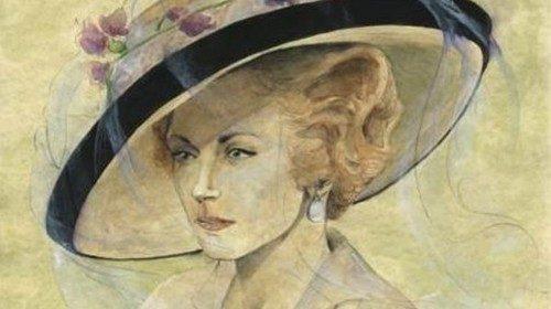 Ritratto di Duchessa di Guermantes (Figurino di Carlo Menucci)