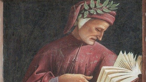 Luca Signorelli «Ritratto di Dante» (1500-1504, particolare)