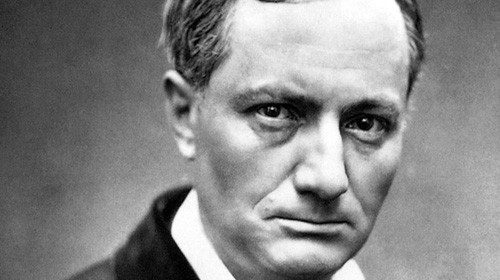 Il poeta francese Charles Baudelaire