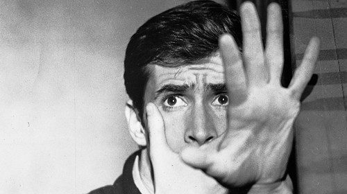 Anthony Perkins nei panni di Norman Bates