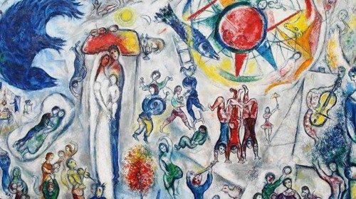 Marc Chagall «La vie» (particolare, 1964)