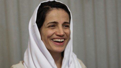L'avvocatessa iraniana Nasrin Sotoudeh (Afp)