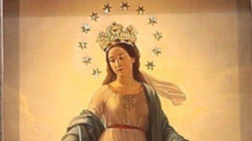 L'immagine della Beata Vergine della Medaglia Miracolosa che si festeggia il 27 novembre