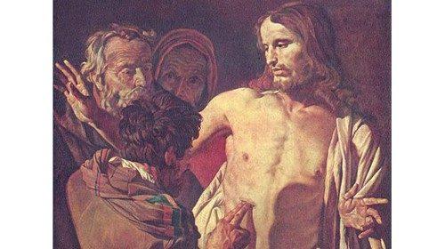 Gerrit van Honthorst «Incredulità di Tommaso» (1620)