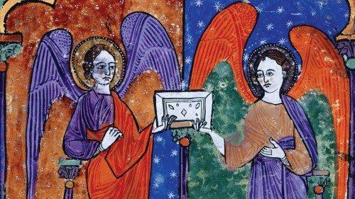 Beato di Liébana, «Commentario all'Apocalisse», miniatura dal manoscritto Facundus, custodito nella Biblioteca Nazionale di Madrid